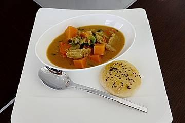 Asiatisches Süßkartoffel - Curry