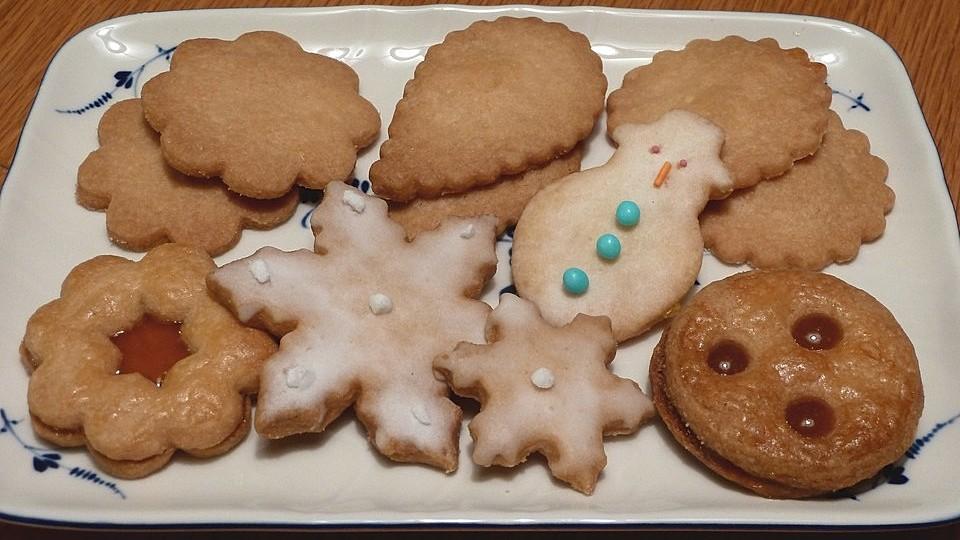 Ich Koche Weihnachtskekse.Weihnachtskekse