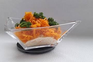 Karottensalat mit Joghurt