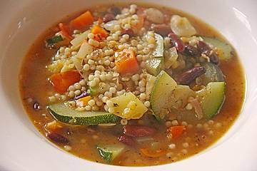 Türkische Gemüsesuppe