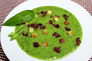 Bärlauch - Kartofffelcreme - Suppe