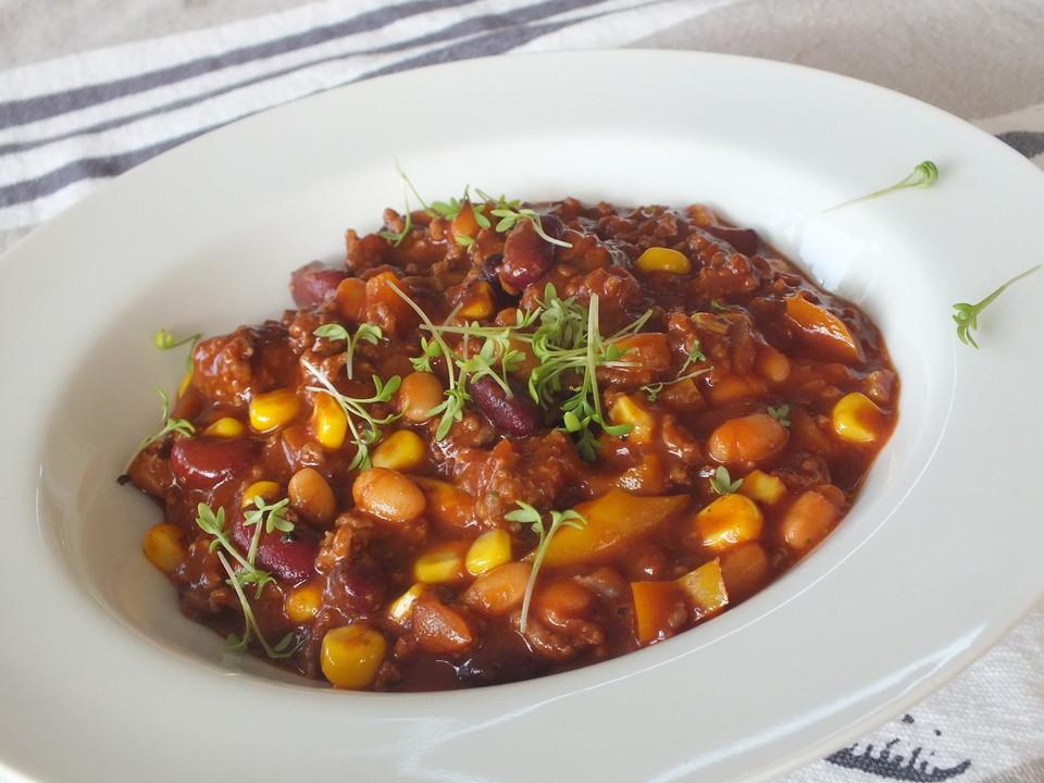 Jamie Oliver Chili Con Carne Rezepte Einfach Chefkochde