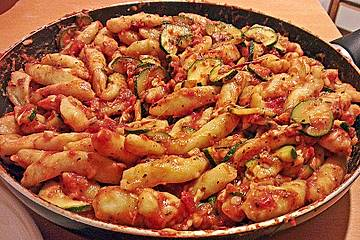 Zucchinipfanne Toskana