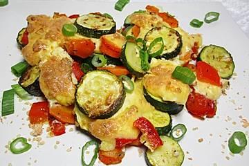 Griechischer Gemüsegratin