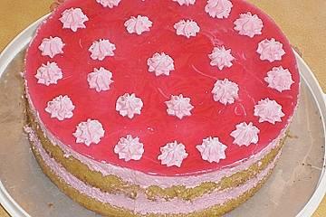 Himbeer - Schmand - Torte