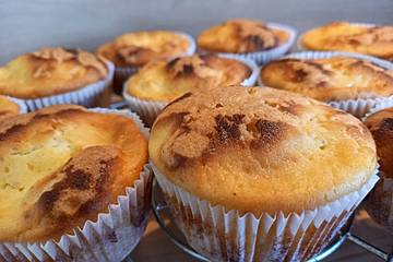 Vanille - Quark - Muffins