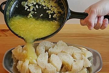 Maniok mit Mojo - Soße