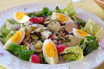 Münchner Weißwurstsalat