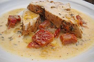 Putenbrust mit getrockneten Tomaten