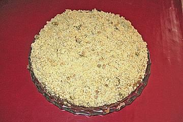 Marmor - Käsekuchen mit Knusperstreuseln