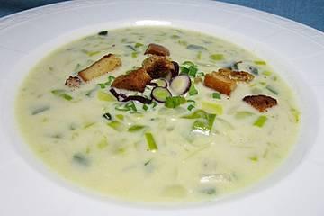 Handkäs - Suppe