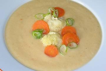 Blumenkohl - Cremesuppe