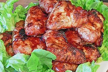 Chicken Wings mit Ingwer - Hoisin - Marinade
