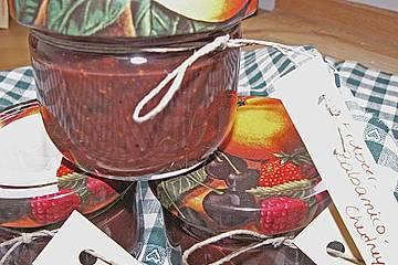 Erdbeermarmelade mit Balsamico und Senf