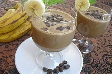 Kaffee - Bananen - Shake