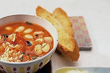 Tomaten - Bohnen - Suppe