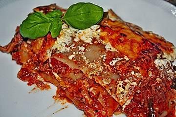 Gemüse - Hackfleisch - Lasagne