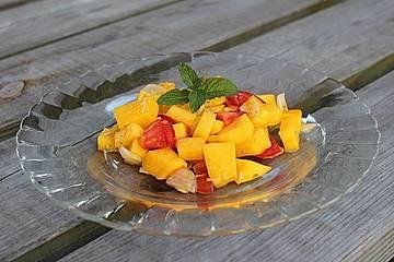 Feuriger Mangosalat