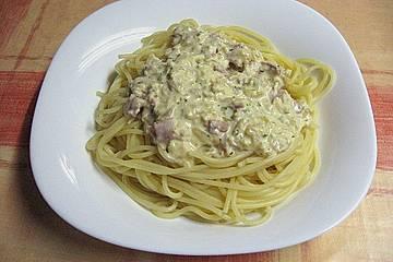 Knoblauch - Spaghetti