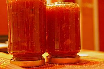 Ingrids Tomaten - Apfel - Chutney