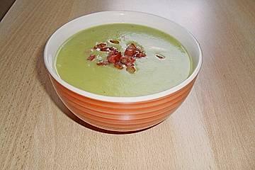 Spanische Honigmelonensuppe
