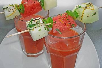 Wassermelonen-Gazpacho