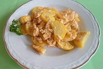 Rezept zucchini und ei