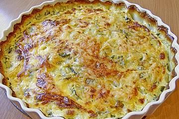 Bärlauch-Kartoffelgratin