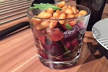 Bohnensalat mit Rote Bete