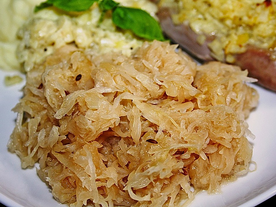 Sauerkraut Kochen