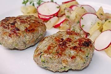 Putenhackfleisch - Zucchini - Frikadellen