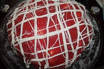 Erdbeer - Kuppeltorte
