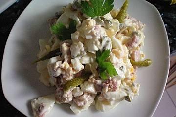 Kartoffelsalat mit Thunfisch