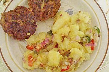 Schnelle Kartoffeln mit Gurkensalat