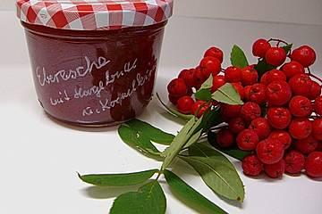 Ebereschen - Marmelade mit Hagebutte und Kornelkirsche