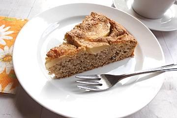 Apfel - Grieß - Kuchen