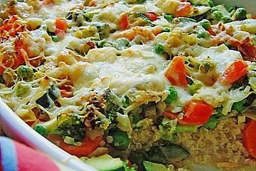 Quinoa - Gemüse - Auflauf