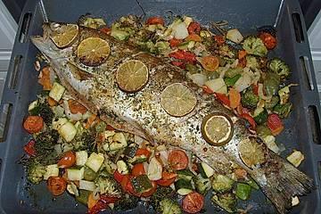 Einfacher aber schwer beeindruckender Backofen - Fisch