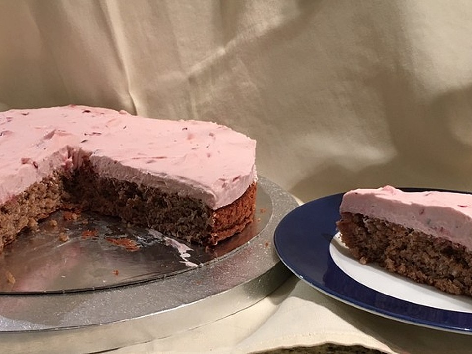 Kuchen rezept preiselbeer torte