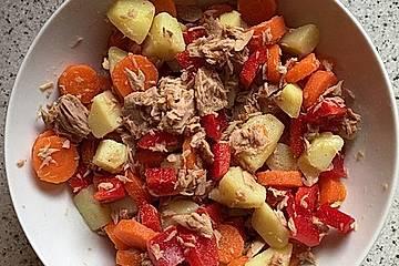 Leckerer spanischer Kartoffelsalat