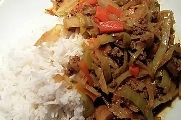 Curry - Pfanne