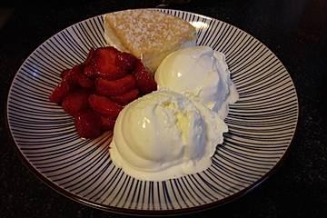 Joghurt-Vanille-Sahne-Eis