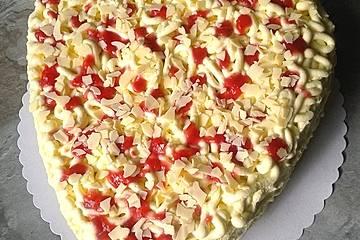 Spaghettieis - Torte