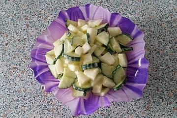Gurken - Melonen - Salat