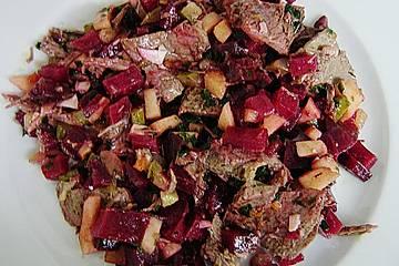 Chrissis Rindfleisch - Salat