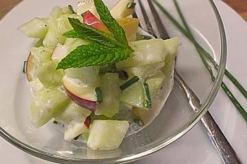 Gurken - Apfel - Salat