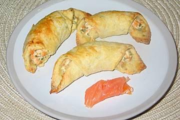 Lachs - Frischkäse - Häppchen