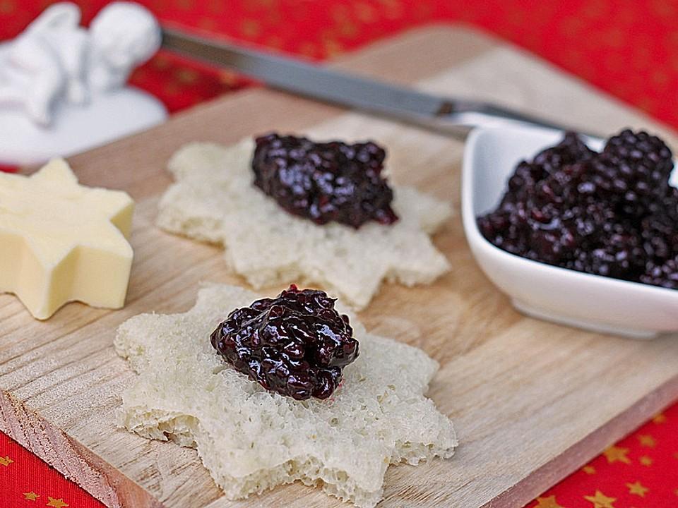 Spekulatius Marmelade aus Brombeeren