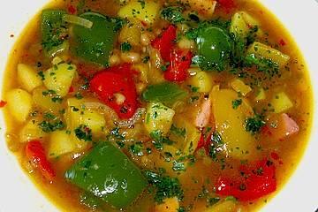 Illes Balkanfeuer - eine wärmende Suppe mit Rotwein
