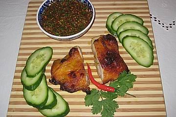 Gai Jang - Thailändisches gegrilltes Huhn